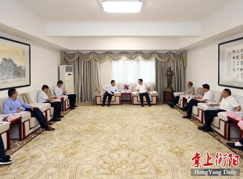 邓群策会见特变电工董事长张新一行:携手深化合作,实现共赢发展